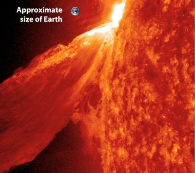 solar-flare-earth